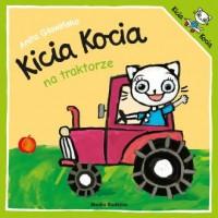 Kicia Kocia na traktorze - okładka książki
