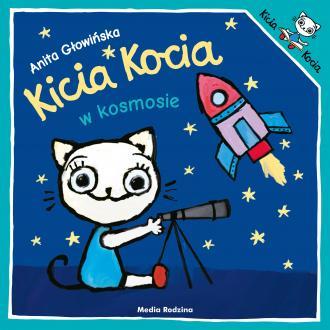 Kicia Kocia w kosmosie - okładka książki