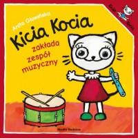 Kicia Kocia zakłada zespół muzyczny - okładka książki