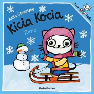 Kicia Kocia Zima - okładka książki