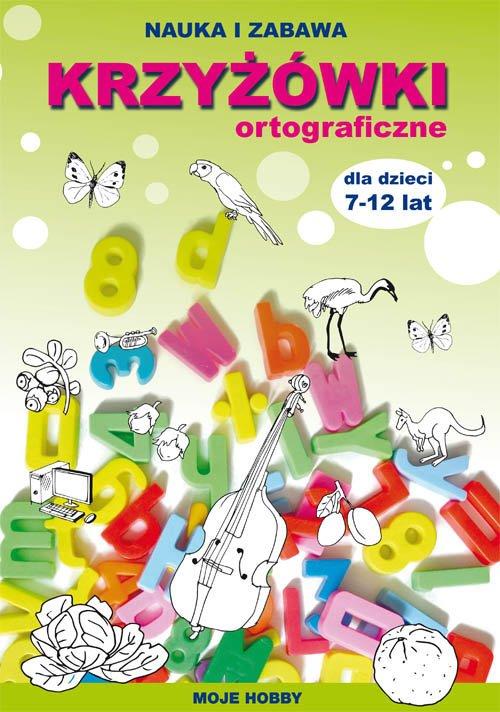 Krzyżówki ortograficzne dla dzieci - okładka podręcznika