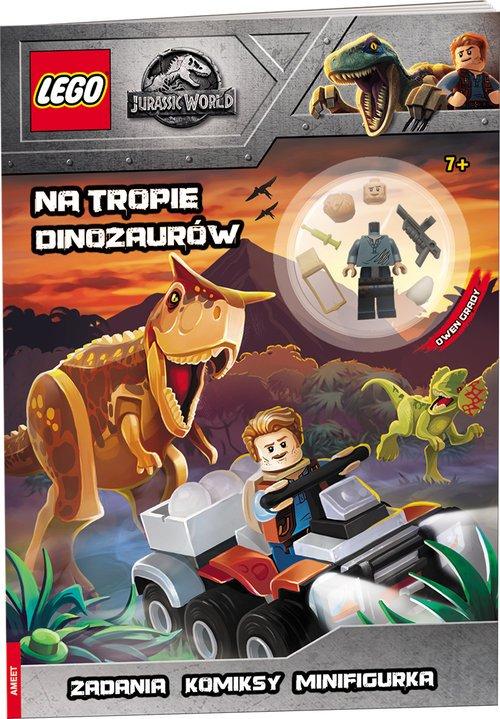 LEGO Jurassic World. Tropiciel - okładka książki