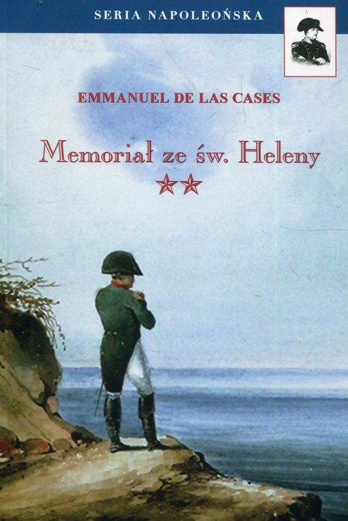 Memoriał ze św. Heleny. Tom 2. - okładka książki