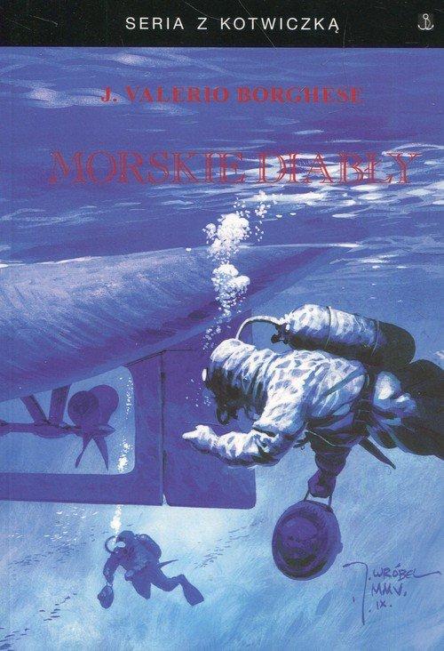 Morskie diabły. Seria z kotwiczką - okładka książki