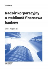 Nadzór korporacyjny a stabilność - okładka książki