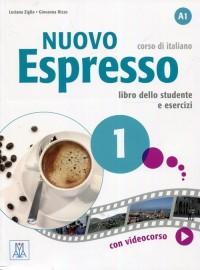 Nuovo Espresso 1. Podręcznik + - okładka podręcznika
