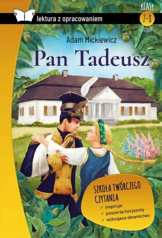 Pan Tadeusz (z opracowaniem) - okładka podręcznika
