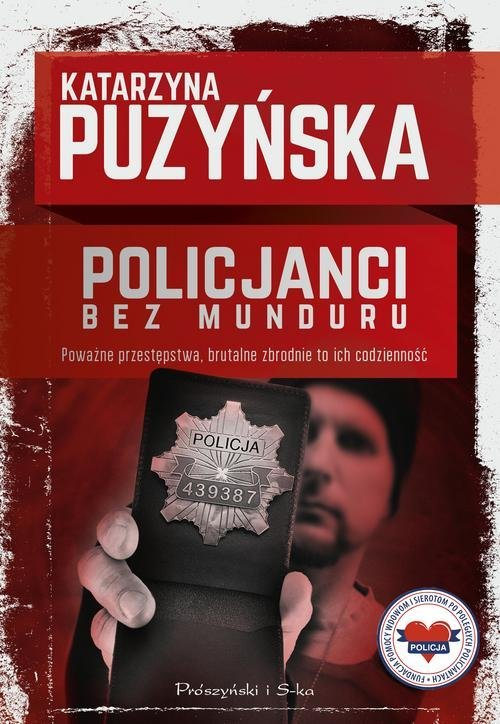 Policjanci. Bez munduru - okładka książki