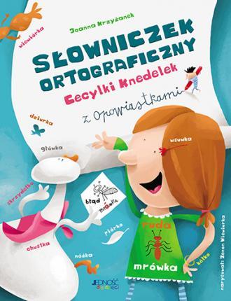 Słowniczek ortograficzny Cecylki - okładka książki
