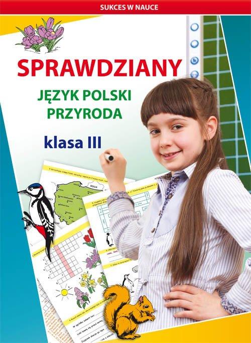 Sprawdziany. Język polski. Przyroda. - okładka podręcznika