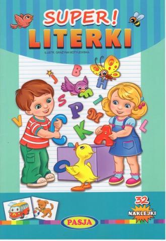 Super Literki - okładka książki
