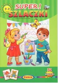 Super Szlaczki - okładka książki