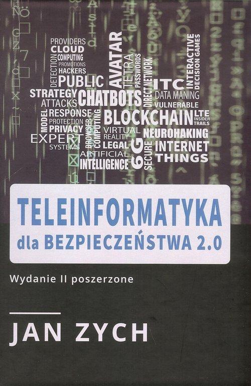 Teleinformatyka dla bezpieczeństwa - okładka książki