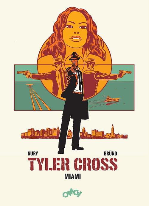 Tyler Cross 3. Miami - okładka książki