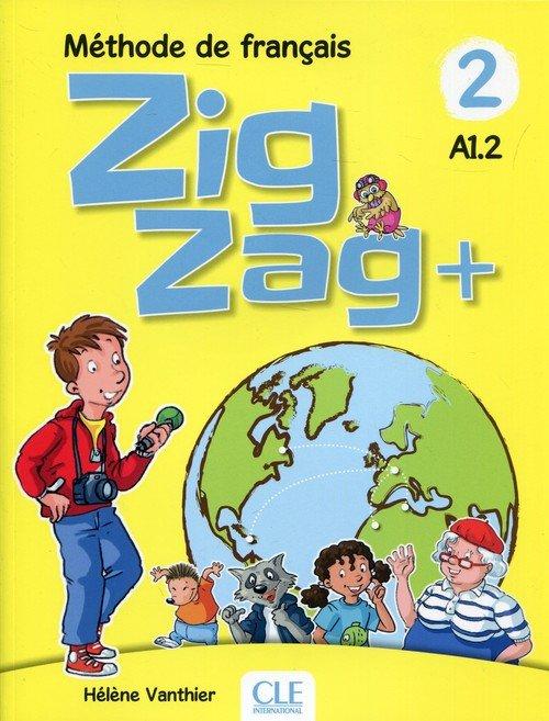 Zig Zag+ 2 A1.2. Podręcznik (+ - okładka podręcznika