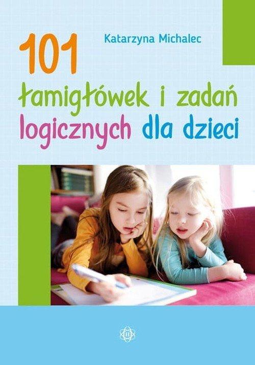 101 łamigłówek i zadań logicznych - okładka książki
