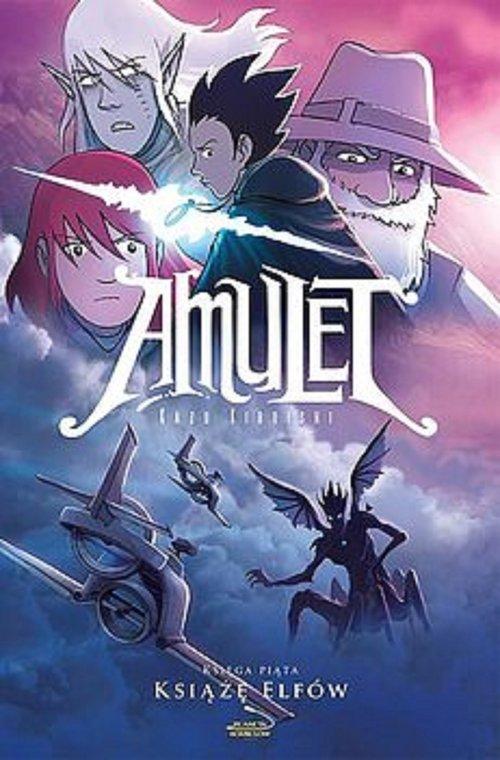 Amulet 5. Książę Elfów - okładka książki