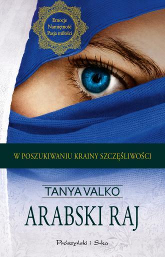 Arabski raj - okładka książki