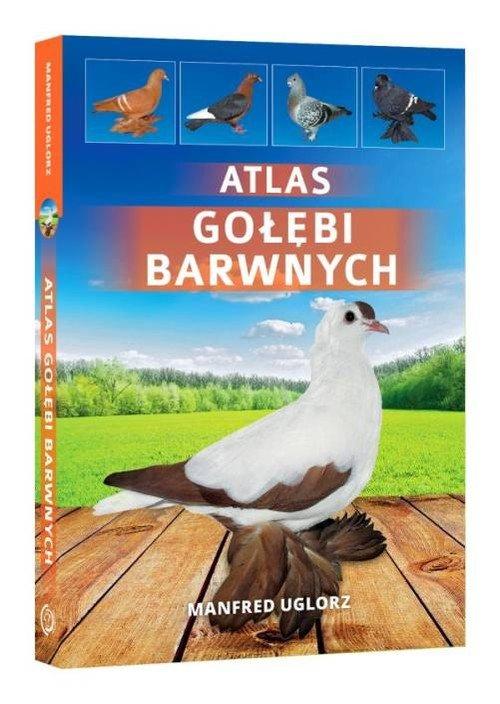 Atlas gołębi barwnych - okładka książki