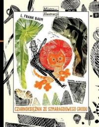Czarnoksiężnik ze Szmaragdowego - okładka książki