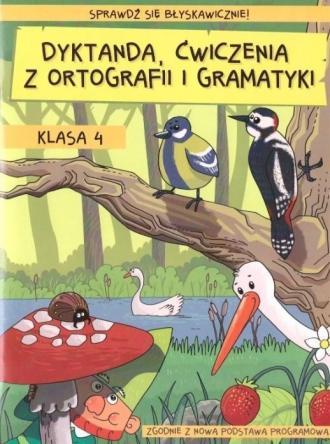 Dyktanda. Ćwiczenia z ortografii - okładka podręcznika
