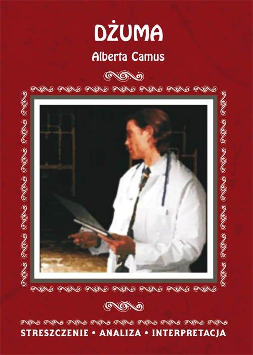 Dżuma Alberta Camus. Streszczenie, - okładka podręcznika