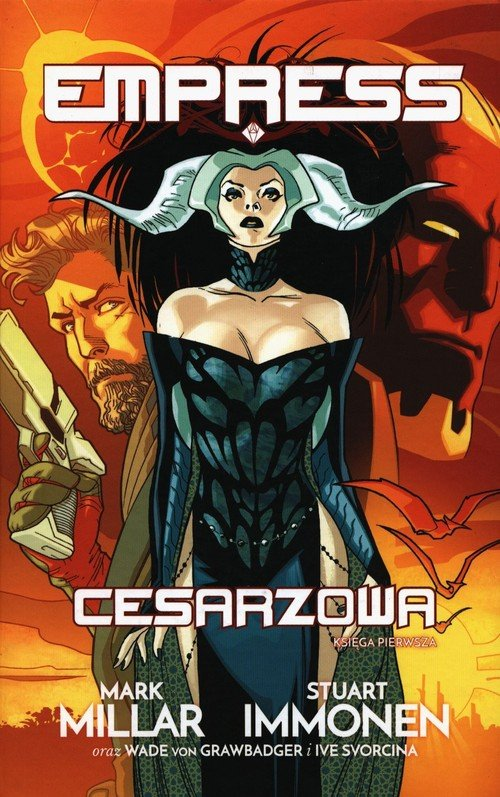Empress: Cesarzowa T.1 - okładka książki