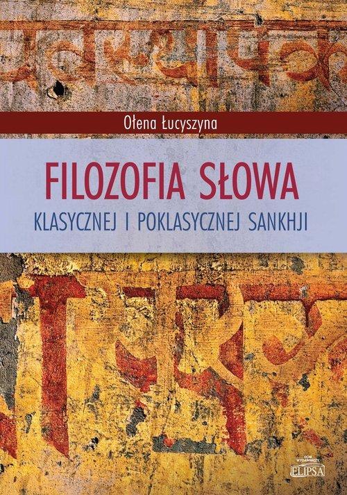 Filozofia słowa klasycznej i poklasycznej - okładka książki