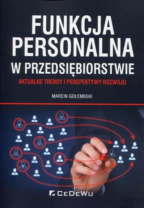 Funkcja personalna w przedsiębiorstwie. - okładka książki