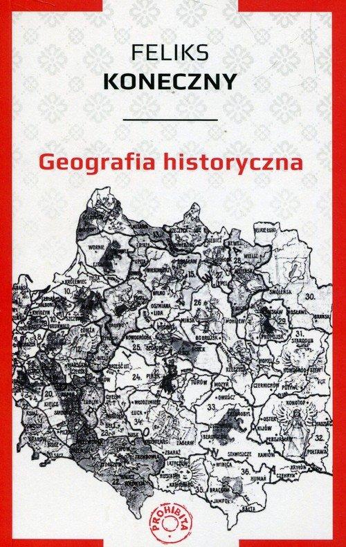 Geografia historyczna - okładka książki