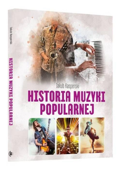 Historia muzyki popularnej - okładka książki