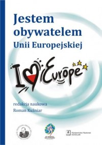 Jestem obywatelem Unii Europejskiej - okładka książki