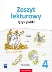 Język Polski. Zeszyt lekturowy. - okładka podręcznika