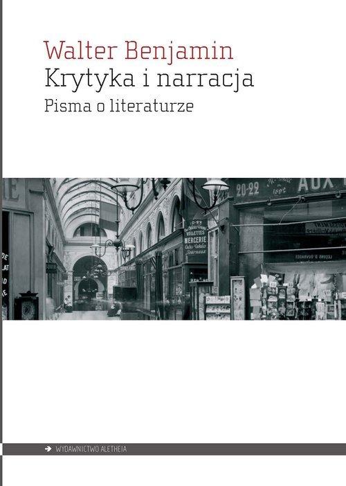 Krytyka i narracja. Pisma o literaturze - okładka książki