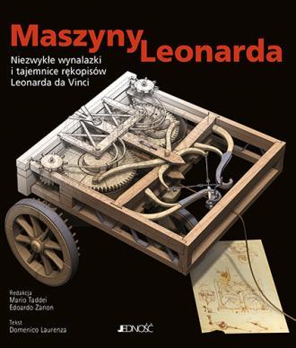 Maszyny Leonarda. Niezwykłe wynalazki - okładka książki