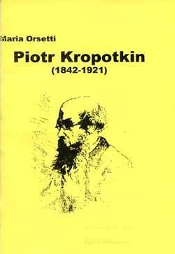 Piotr Kropotkin 1842-1921  - okładka książki