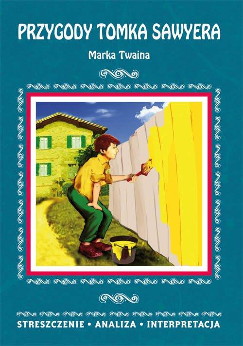 Przygody Tomka Sawyera Marka Twaina. - okładka podręcznika
