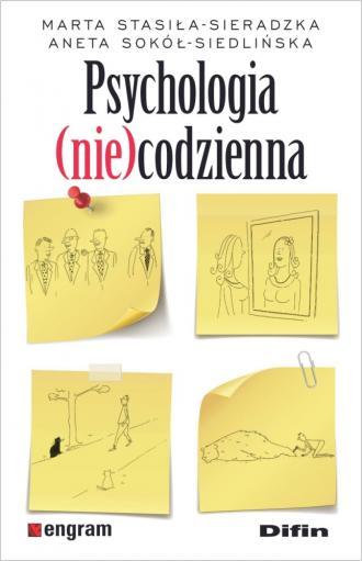 Psychologia (nie)codzienna - okładka książki