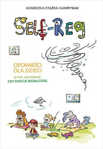 Self-Reg.  Opowieści dla dzieci - okładka książki