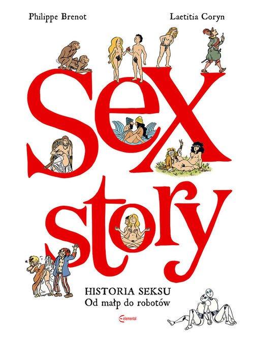 Sex Story. Historia seksu. Od małp - okładka książki