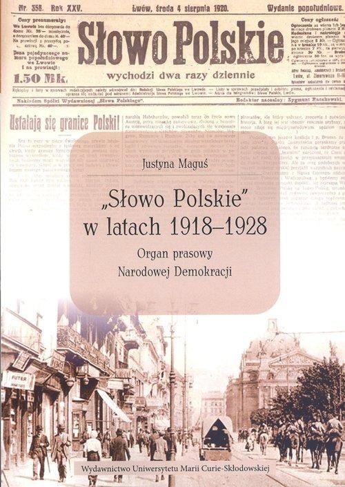 Słowo Polskie w latach 1918-1928 - okładka książki