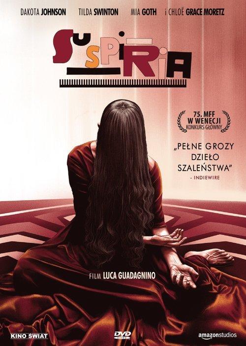 Suspiria - okładka filmu