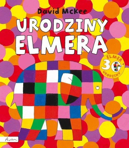 Urodziny Elmera - okładka książki
