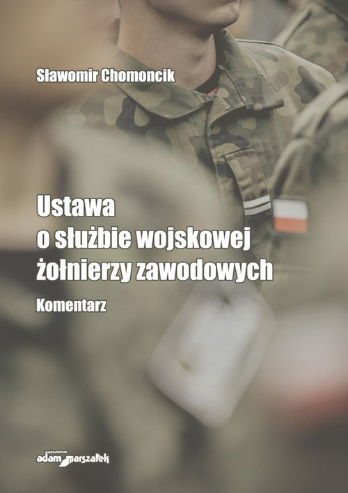 Ustawa o służbie wojskowej żołnierzy - okładka książki
