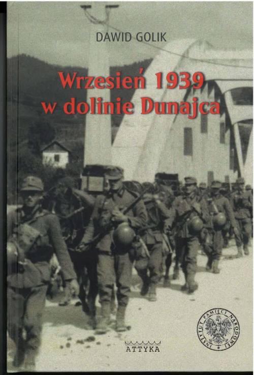 Wrzesień 1939 w dolinie Dunajca. - okładka książki