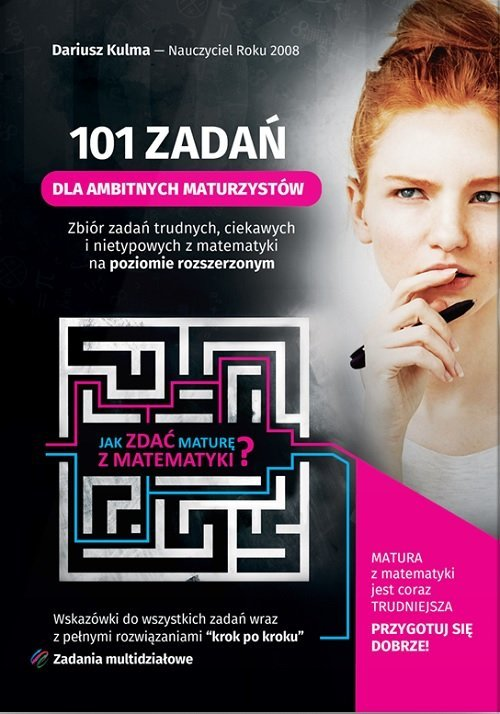 101 zadań dla ambitnych maturzystów - okładka podręcznika