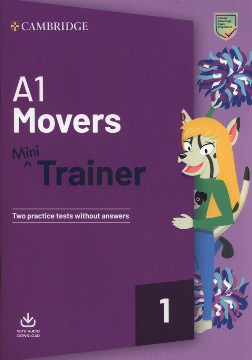 A1 Movers Mini Trainer with Audio - okładka książki