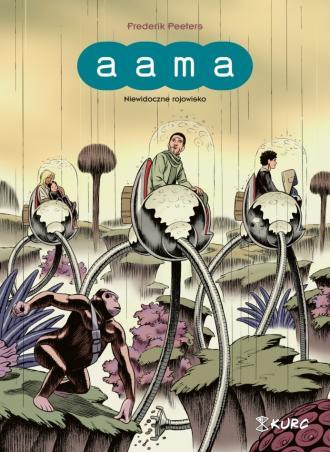 Aama. Tom 2. Niewidoczne rojowisko - okładka książki