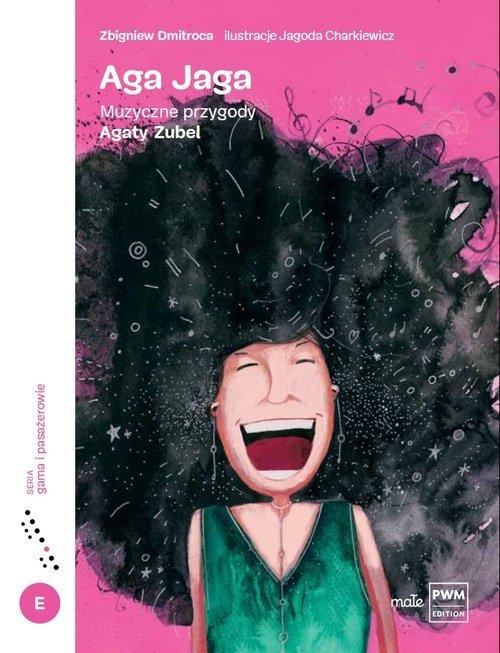 Aga Jaga. Muzyczne przygody Agaty - okładka książki