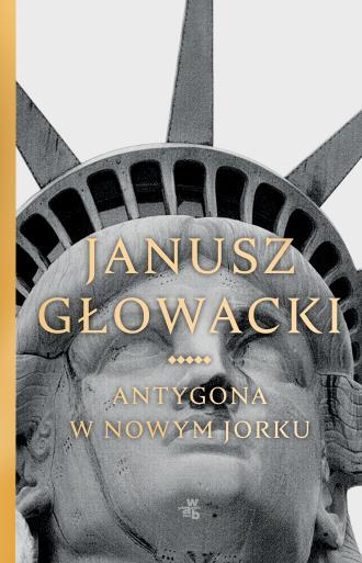 Antygona w Nowym Jorku - okładka książki